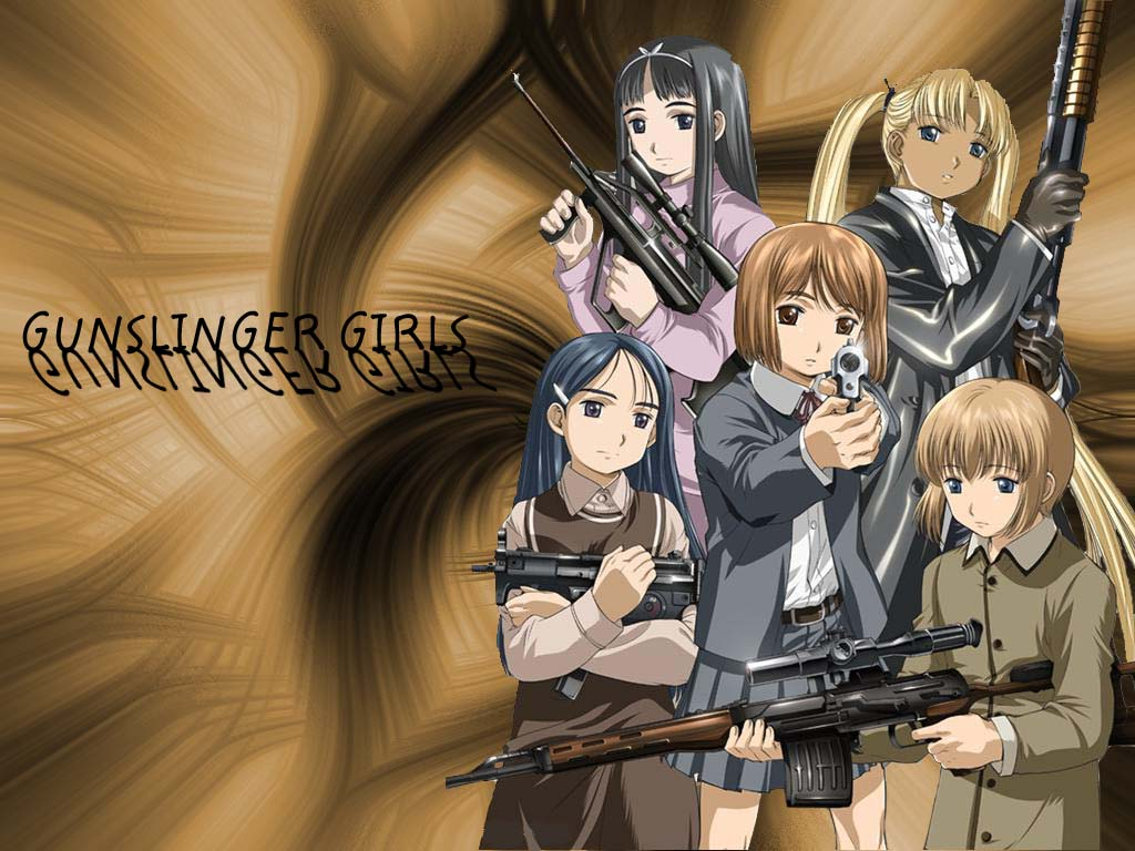 Gunslinger Girls !